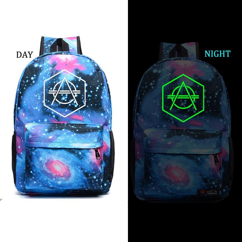 Don Diablo noctilucous backpack student school bag Daily backpack men women Rucksack постельное белье young iy 03 1 5 спальное