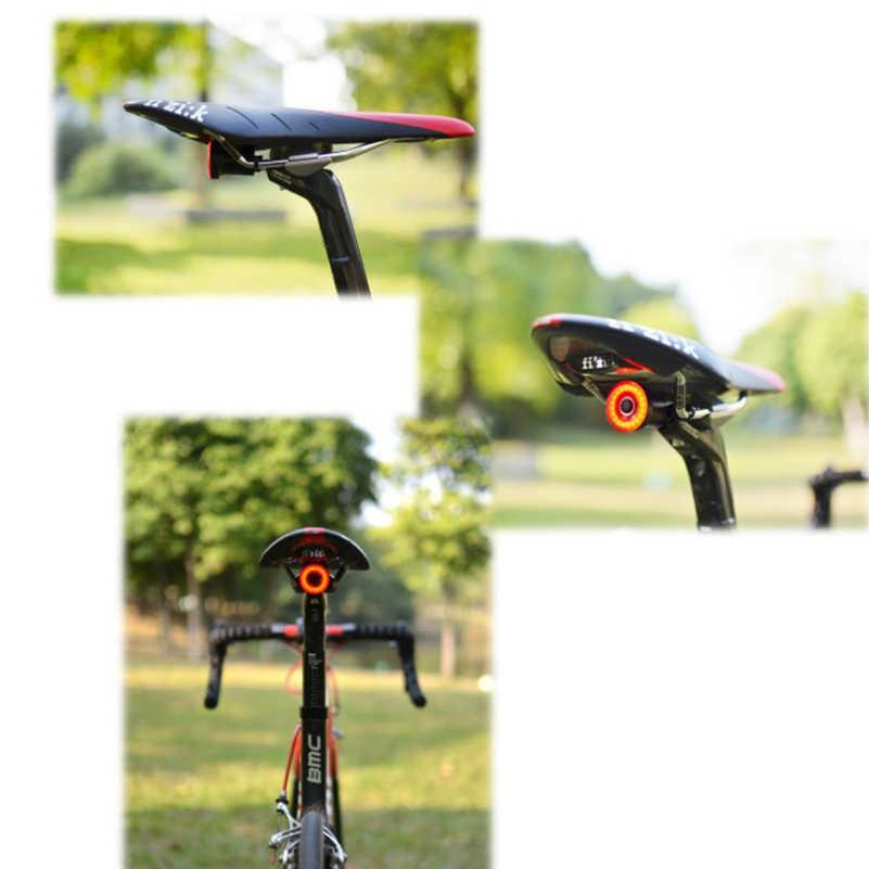 c6744add7 ... WEST ciclismo XLITE100 posterior de la bicicleta de luz USB recargable  de inicio/para Sensing