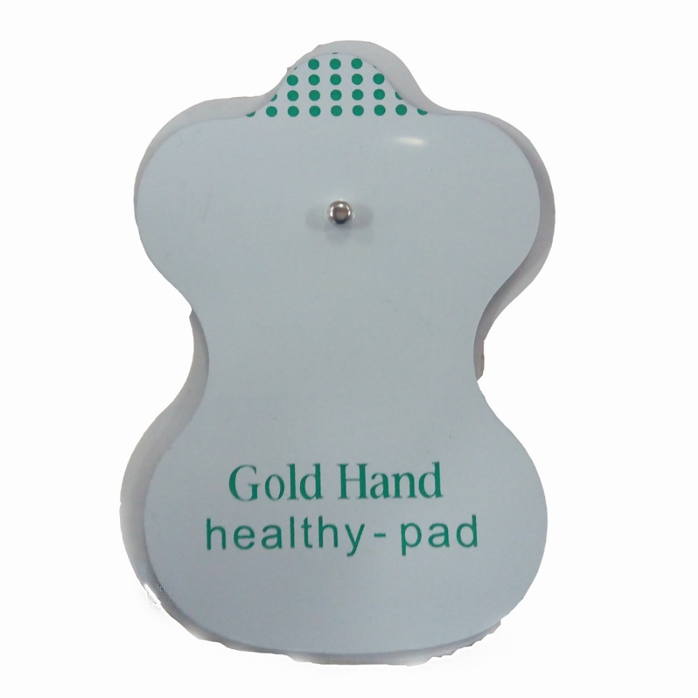 50 teile/los Ersatz Elektrodenpads für Elektrode Antistress Akupunktur Pad Körper Massage Digitale Therapiemaschine Pads
