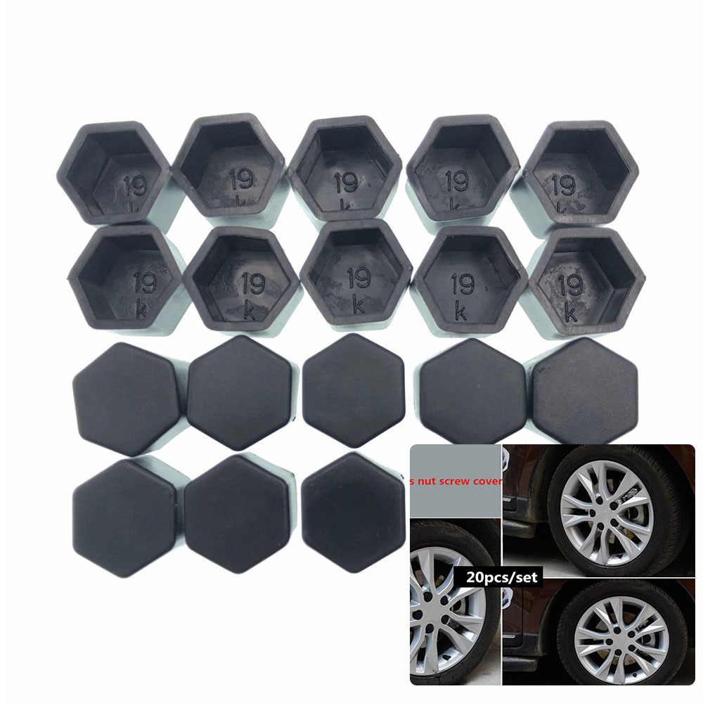 20 штук Автомобильная Ступица колеса гайка чехол Крышка для Ford Focus Fusion эскорт Kuga Ecosport Fiesta Сокол Mondeo Taurus MUSTANG