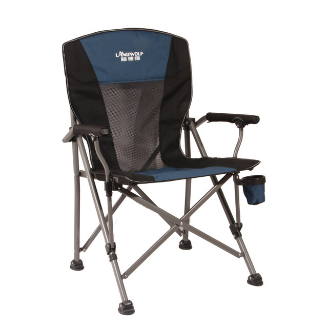 Load-bearing 300 kg Outdoor folding lounge chair Wild camping Fishing/stool Beach chair easy carry for camping 2