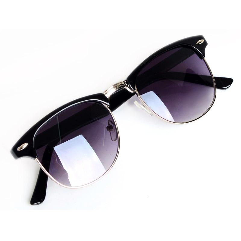 New Fashion Eyewear Classic Retro Unisex Sunglasses Women Brand Designer Men Sun Glasses 2 Colors oculos de sol feminino