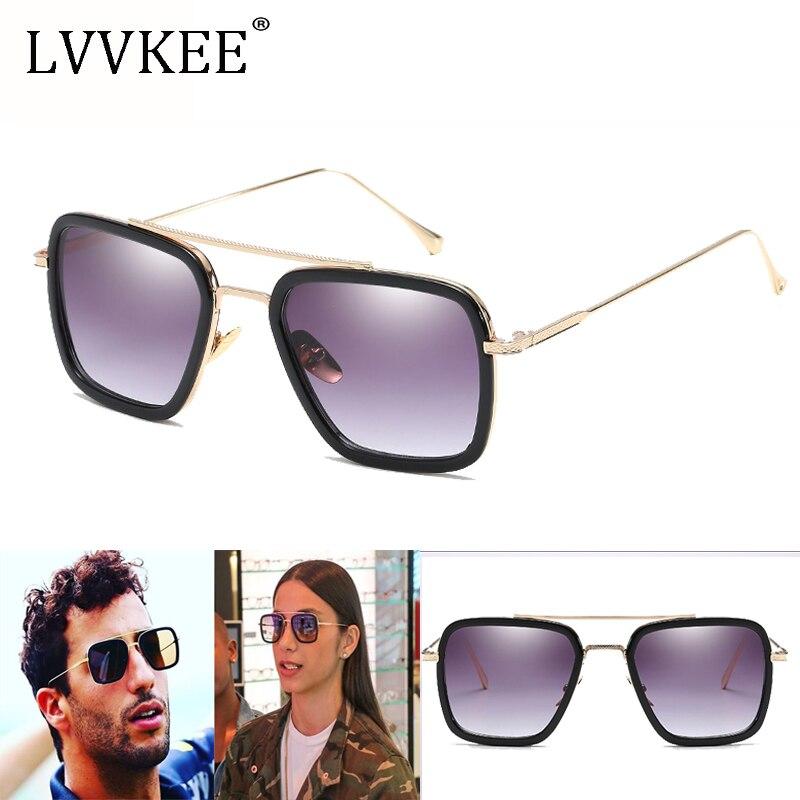 2018 New arrival Flight 006 Style Square Aviator Sunglasses Men Women Colorful Gradient Sun Glasses Oculos De Sol masculino