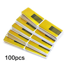 Useful Nail Tool 100 PCS/Lot  Nails Gel Extension Sticker Nail Art Professional Acrylic Nail Forms