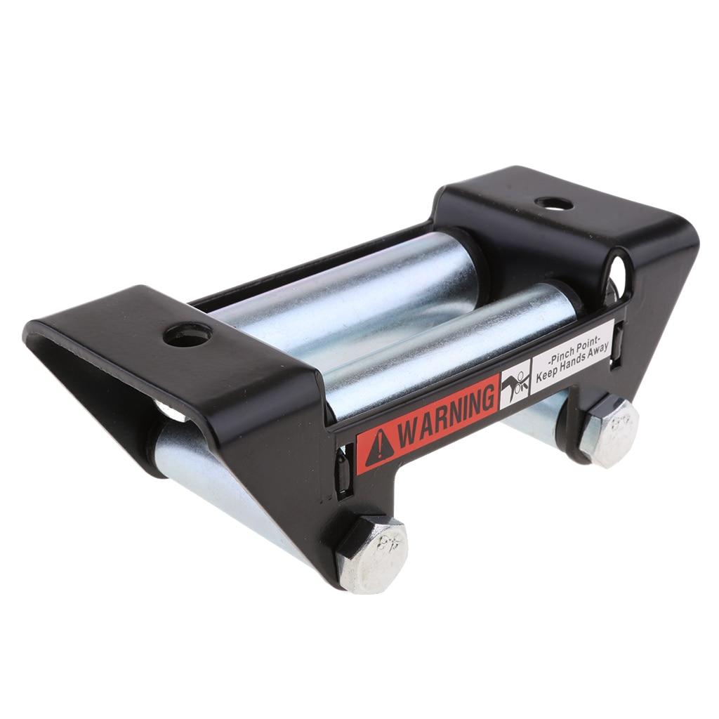Uniwersalna wciągarka rolkowa Fairlead do stalowa linka ATV/UTV 161x92x58mm