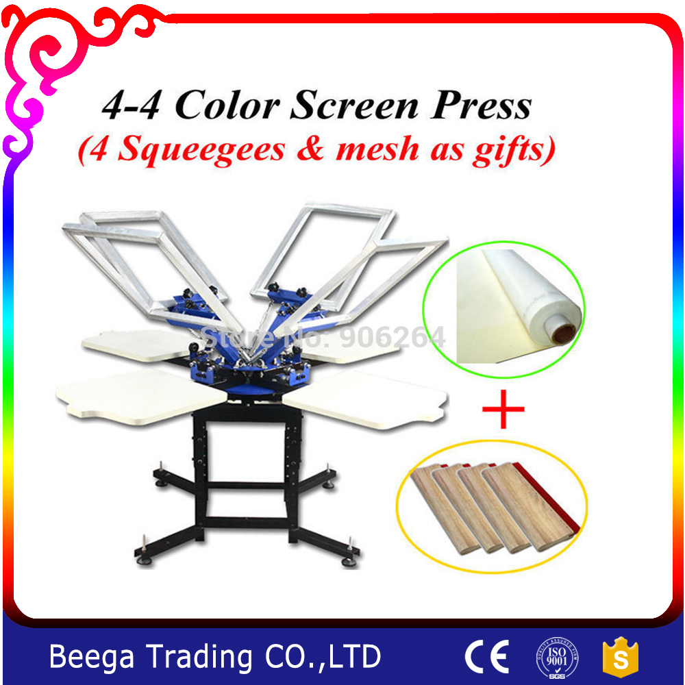 Discounting&Promotion&Gift silk screen press DIY screen printing T-shirt small diy t shirt diy
