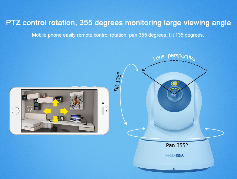 HTB1fOiBqeuSBuNjy1Xcq6AYjFXaI INQMEGA 720P IP Camera Wireless Wifi Cam Indoor Home Security Surveillance CCTV Network Camera Night Vision P2P Remote View