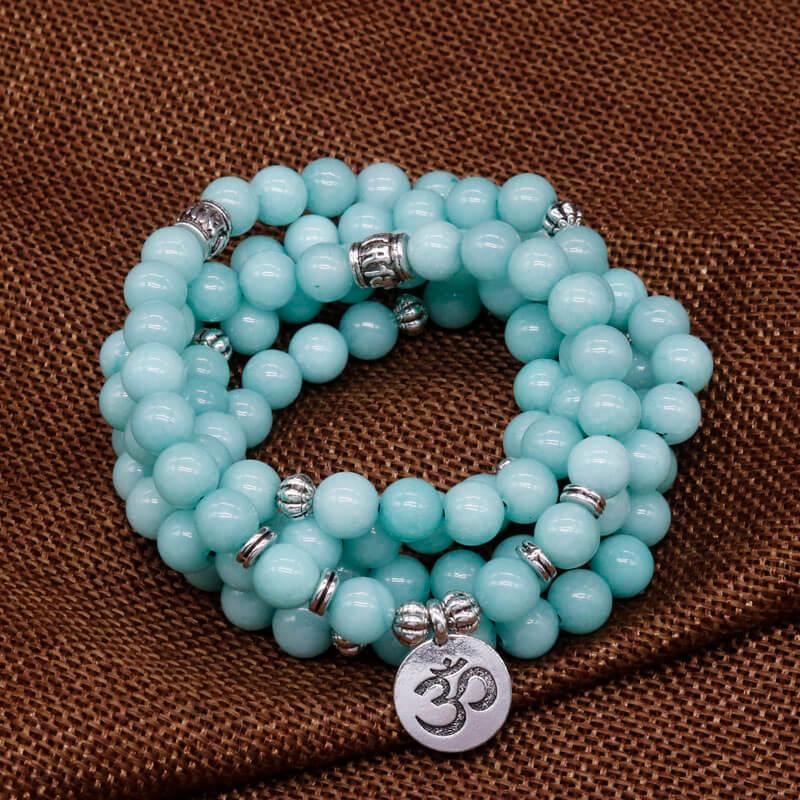 Handmade ceramic round beads Rustic Tribal for Jewelry making Prayer Meditation