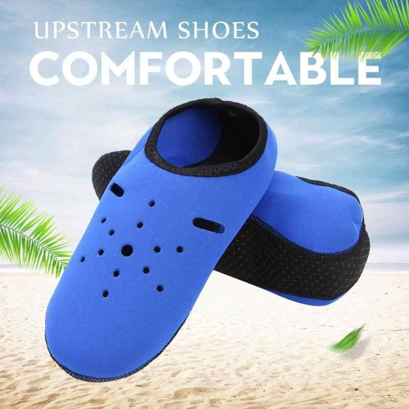 1 çift bahar açık dalış çorapları su sporları dalış çorap plaj yüzme sörf ayakkabı erkekler kadınlar için 33-43 boyutu