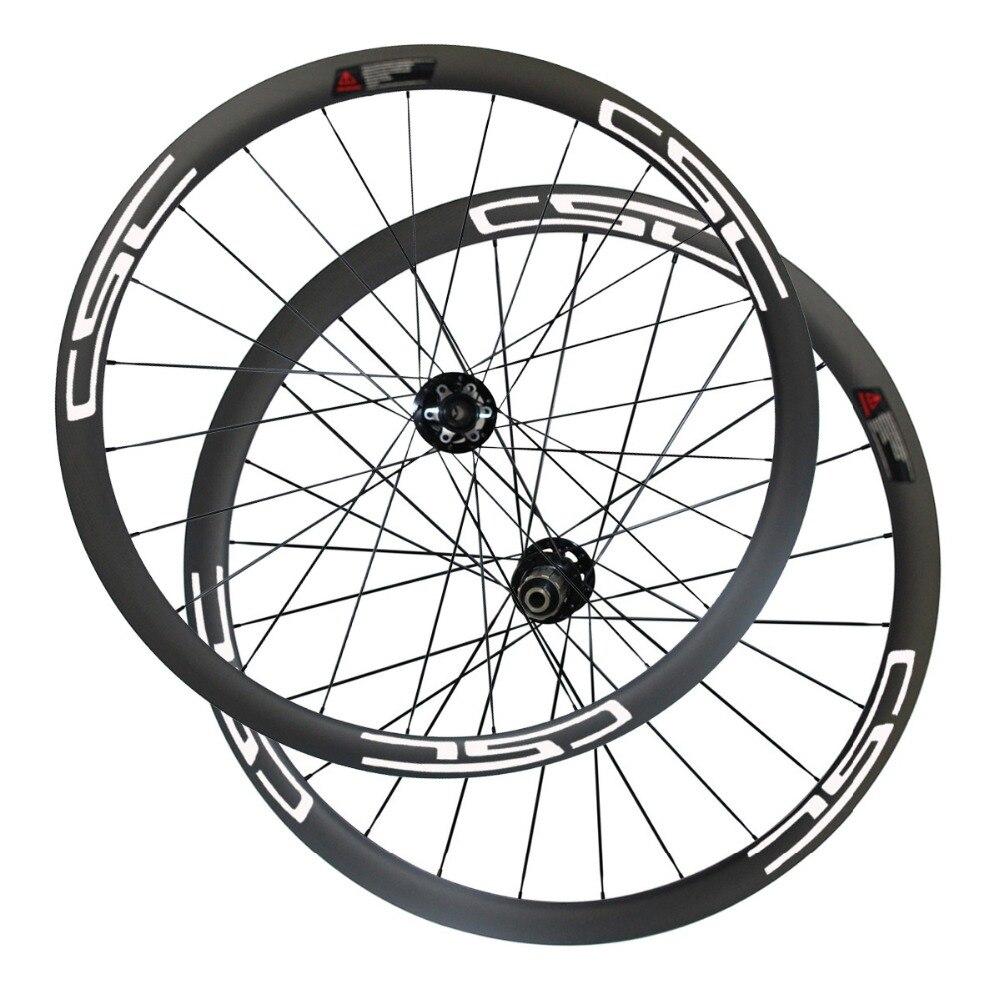 CSC 25 ミリメートル幅カーボン 40 ミリメートルチューブレスシクロクロスノバテックハブ D791SB/D792SB ディスクブレーキハブ sapim ブレーキパッドなし  グループ上の スポーツ & エンターテイメント からの 自転車の車輪 の中 2
