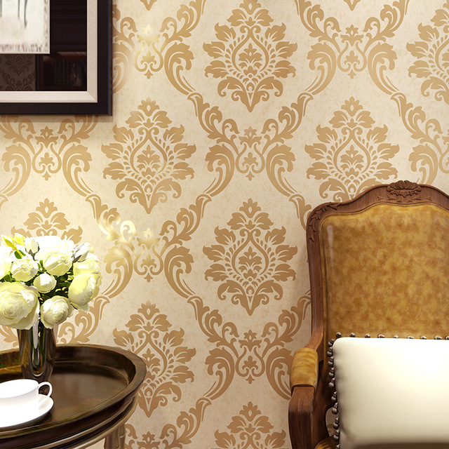 special pictures living room. Beibehang European Style Retro Flower Non-woven Special Living Room Bedroom Background Wall Hotel Works Pictures