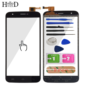 5.5'' Mobile TouchScreen Touch Screen For Doogee Y100 Plus Touch Screen Glass Front Glass Digitizer Panel Sensor Tools Adhesive