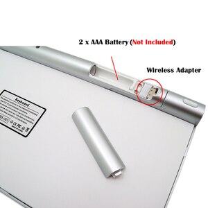 Image 5 - Slim מיני USB אלחוטי מקלדת קטן מחשב אלחוטי מקלדות קומפקטי חיצוני מקלדת עבור מחשב נייד Tablet Windows מחשב שולחני