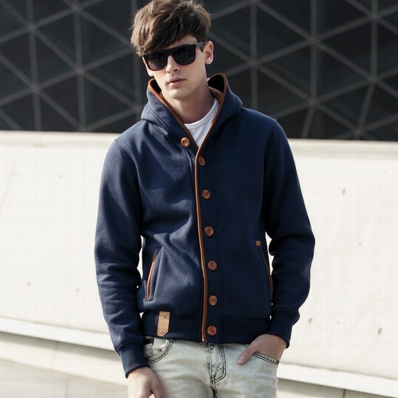 Western style autumn winter mens jackets and coats