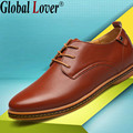 Global Lover men shoes casual fashion breathable mens luxury italian flat genuine leather designer high quality size 45 shoes