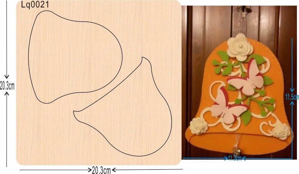 Colgante amarillo nuevos moldes de madera para cortar para scrapbooking Thickness 15.8mm-in Troqueles from Hogar y Mascotas    1