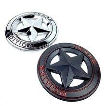 TEXAS edycja Trunk CHROME samochodów ogon godło boczne skrzydło odznaka renegade naklejki samochodowe dla JEEP Renegade Wrangler Patriot Cherokee samochód