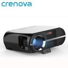 Crenova GP100UP Proyector Conjunto en 6.0.1 Android WIFI Bluetooth Proyector 3500 Lúmenes 1080 P Full HD LED TV Proyector de Vídeo Proyector