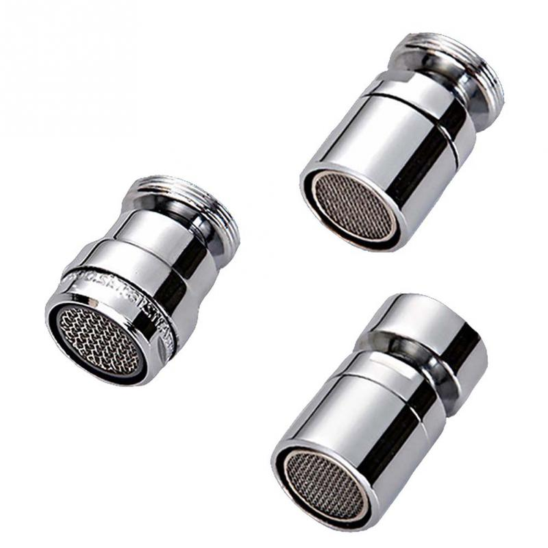 24mm Water Saving Chic Faucet Nozzle Aerator Bubbler Sprayer Water-saving Tap Filter Three Modes