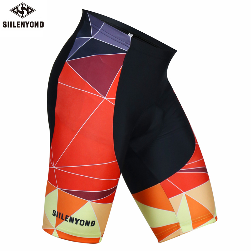 Siilenyond 2019 Men Summer Cycling Shorts With 3D Gel Pad Comfortable Mountain Bike Cycling Clothing Racing Bicycle Clothes