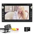 "2DIN 7 ""Capacitive touch screen Car DVD Video Player Para VolkswagenVW Jetta Polo Bora Golf 4 Passat B5 Rádio TV 3G volante"