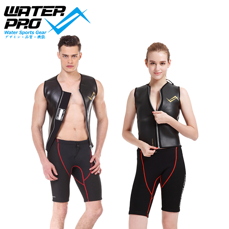 Water Pro 3.5mm Vest Supreme A & 3mm Sports Pant Rash / Warm Guard Sun Protection