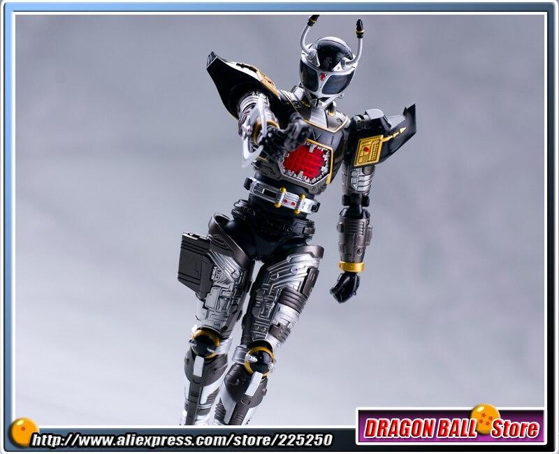 Anime Masked Rider Beetle Fighter Original BANDAI Tamashii Nations SHF/ S.H.Figuarts Action Figure - Black Beet