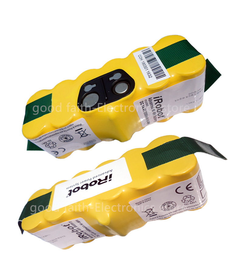 New Battery For IRobot Roomba 560 530 510 562 550 570 500 581 610 770 760 780 790 880 Vacuum Robot Cleaner MI-MH Rechargeable