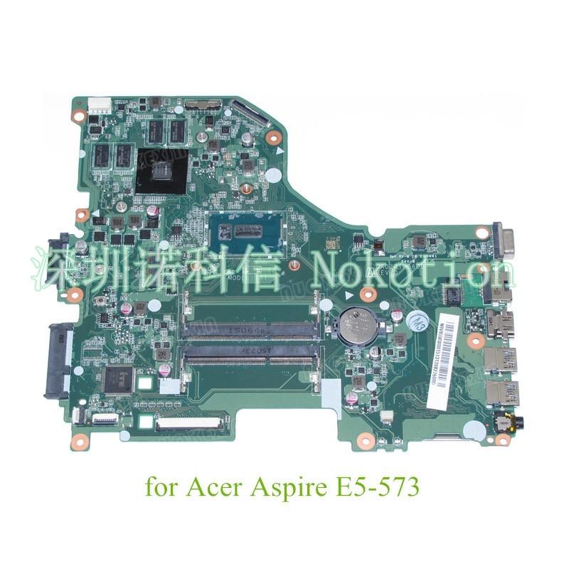 NOKOTION N9.VB5WW.001 DA0ZRTMB6D0 REV D N9VB5WW001 for acer aspire E5-573 laptop motherboard NVIDIA 920M I3-5005U laptop palmrest for acer as5940 5940g 5942 5942g 60 pfq02 001 ap09z000400