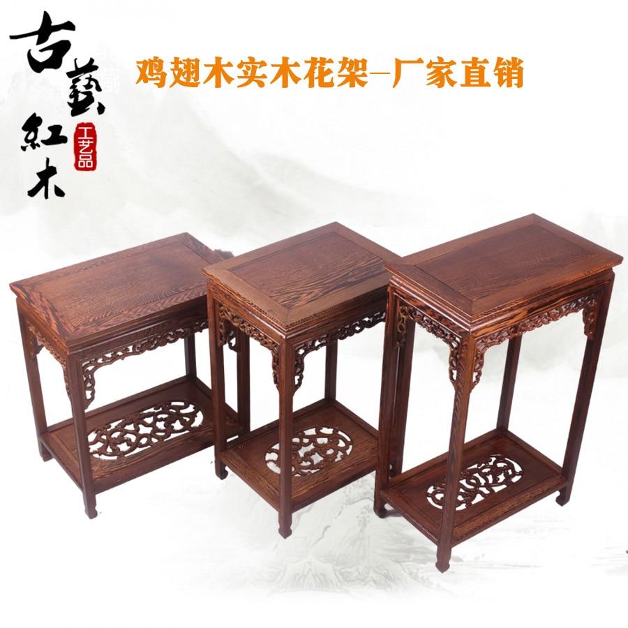 Muebles De Caoba Wengu Rectangulares Flor Negro Y P Rpura Cl Sica  # Muebles Tallados En Madera