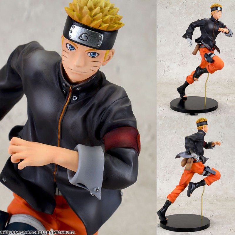 22cm Naruto Action Figures Running Naruto Shippuden The Last Movie Figure PVC Figurine Toys Naruto Anime Japanese Anime Figure naruto figure uchiha obito japanese anime pvc 9 84