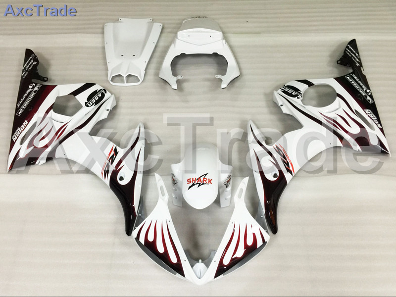 Motorcycle Fairings For Suzuki GSXR GSX-R 600 750 GSXR600 GSXR750 2004 2005 K4 04 05 ABS Plastic Injection Fairing Bodywork Kit custom road fairing kits for suzuki glossy flat black 2006 gsxr 1000 k5 2005 gsx r1000 06 05 motorcycle fairings kit