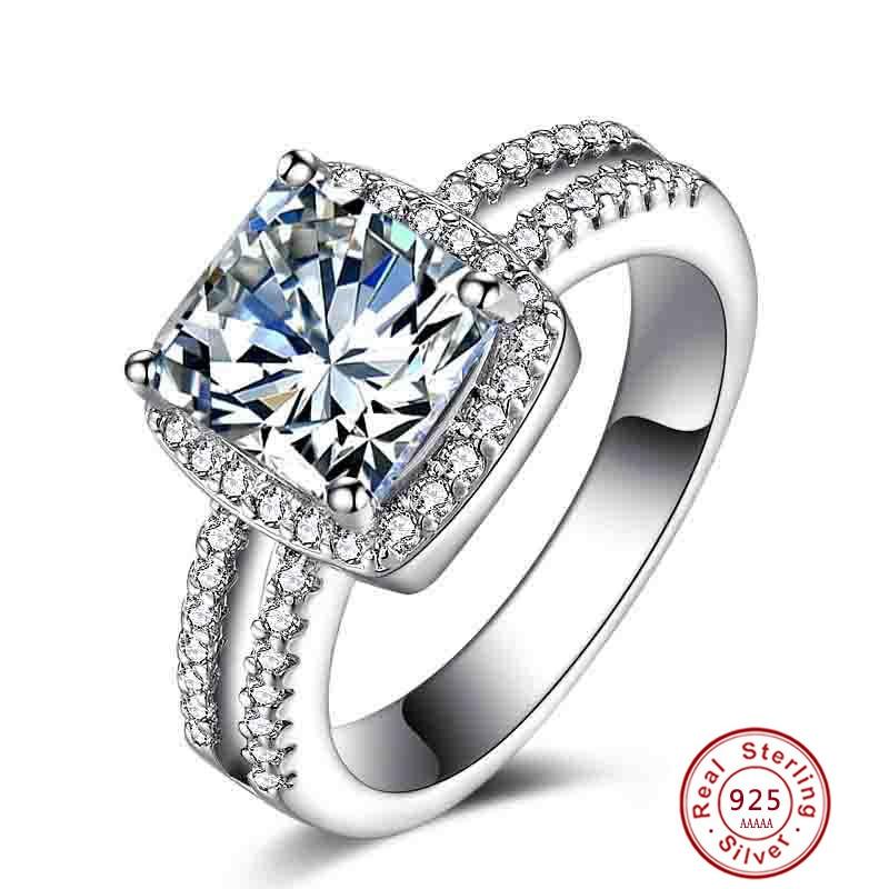 Kompetent Claddagh Hochzeit Ringe Für Frauen Platz 925 Sterling Splitter Zirkon Schmuck Bague Bijoux Femme Ring Zubehör Verlobungsringe
