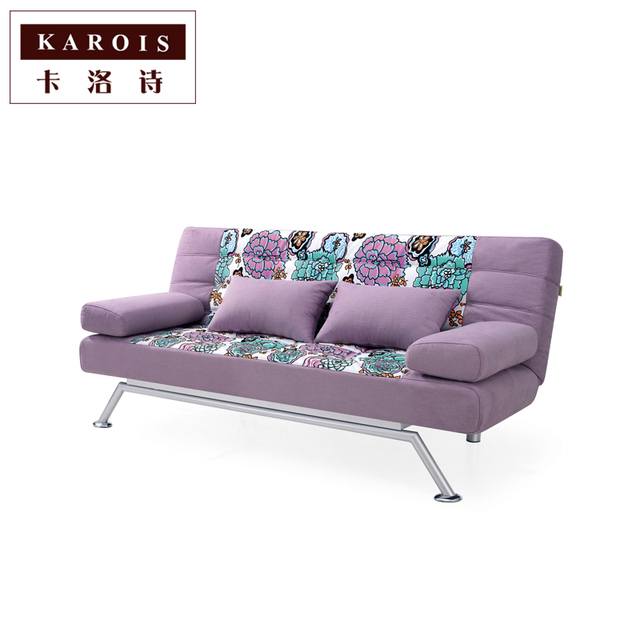 Fabric Sofa Bed Modern Parlor Casual Living Room European Style Multiplayer Reception