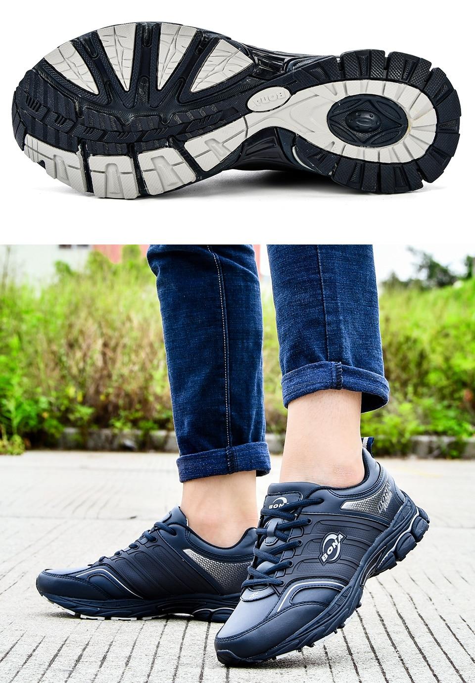HTB1fOn5trZnBKNjSZFrq6yRLFXa3 BONA Men Casual Shoes Microfiber Man Flats Lace Up Breathable Men Fashion Classic Outdoor Shoes Zapatos De Hombre Free Shipping