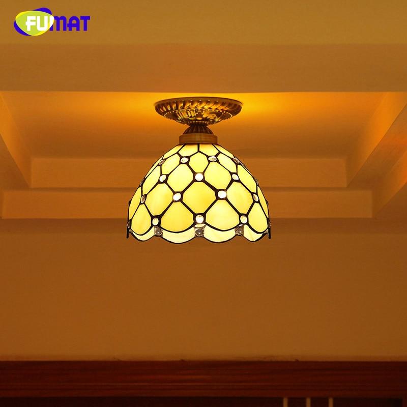 Ön sundurma üçün vitrin işıqlı mozaik tavan lampaları üçün - Daxili işıqlandırma - Fotoqrafiya 2