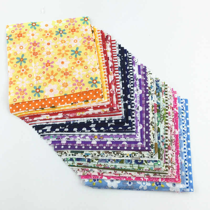 Booksew Randomly Tecidos 100% Cotton Fabric Charm Packs 30 Pcs/lot 10cmx10cm No Repeat Tissue Telas De Algodon Para Patchwork