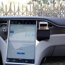 Автомобильный Кондиционер tuyere крюк вентиляционные зажимы Телефон футляр для солнцезащитных очков выход мешочки для tesla модель 3