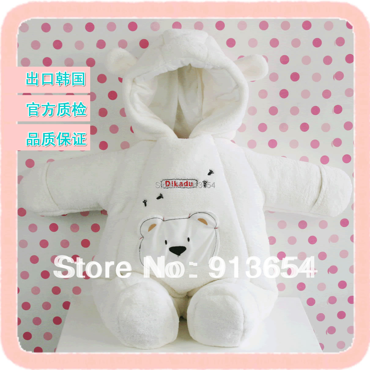 Free shipping new 2016 autumn winter overalls baby clothing newborn cotton romper kids cute warm overall baby jumpsuits