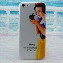 Capa Simpson Snow White Mermaid phone Coque for iPhone 4 4s 5 5s ES 5c 6