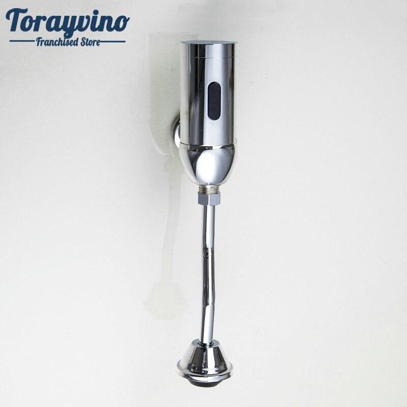 Ванная комната Сенсор писсуар Ванная комната аксессуары Туалет Автоматический сливной Клапан Сенсор писсуар настенный touch кран писсуар