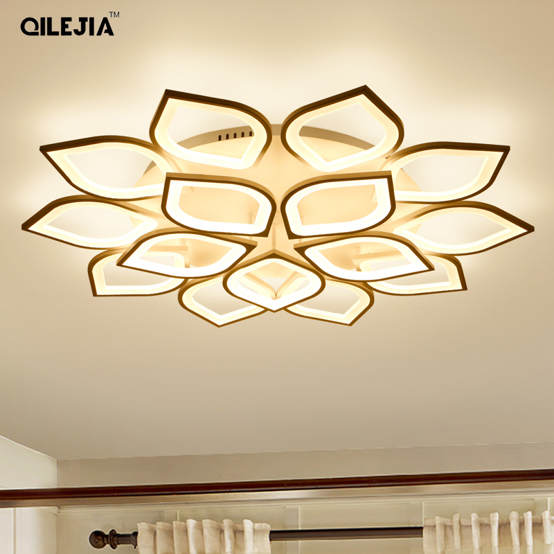 Modern LED ceiling lights for living room bedroom Lamp Acrylic led ceiling lamp dimming home lighting luminarias AC110V-220VModern LED ceiling lights for living room bedroom Lamp Acrylic led ceiling lamp dimming home lighting luminarias AC110V-220V