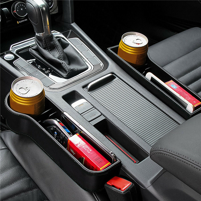 Car Seat Organizer ABS Plastic Auto Crevice Storage Box Bag Pocket Trunk Accessories