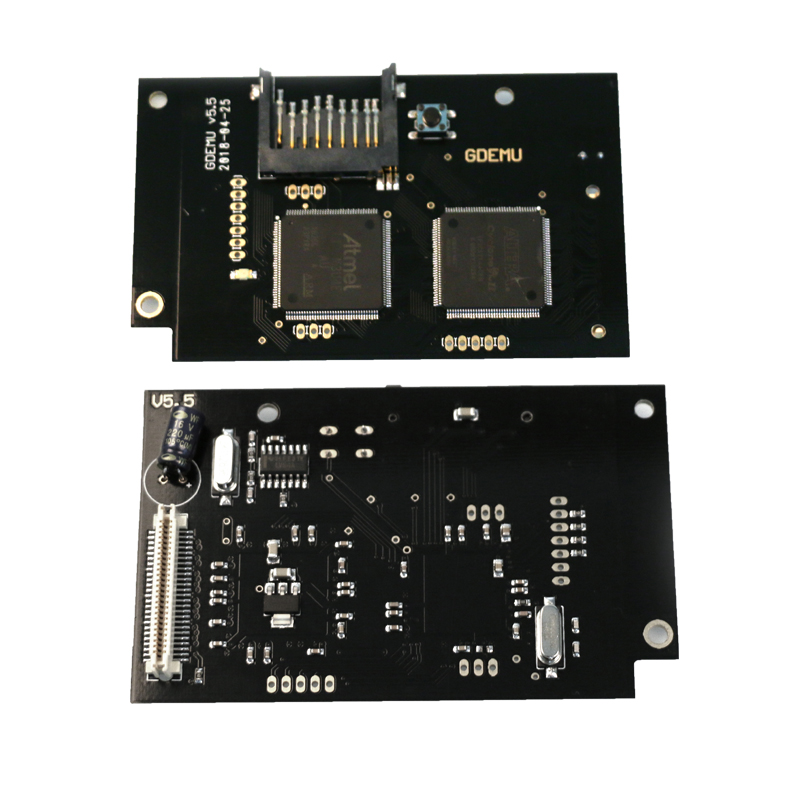 Replacement Optical Drive Simulation Board for DC Game Machine the Second Generation Built-in Free Disk for Full New GDEMU Game цена