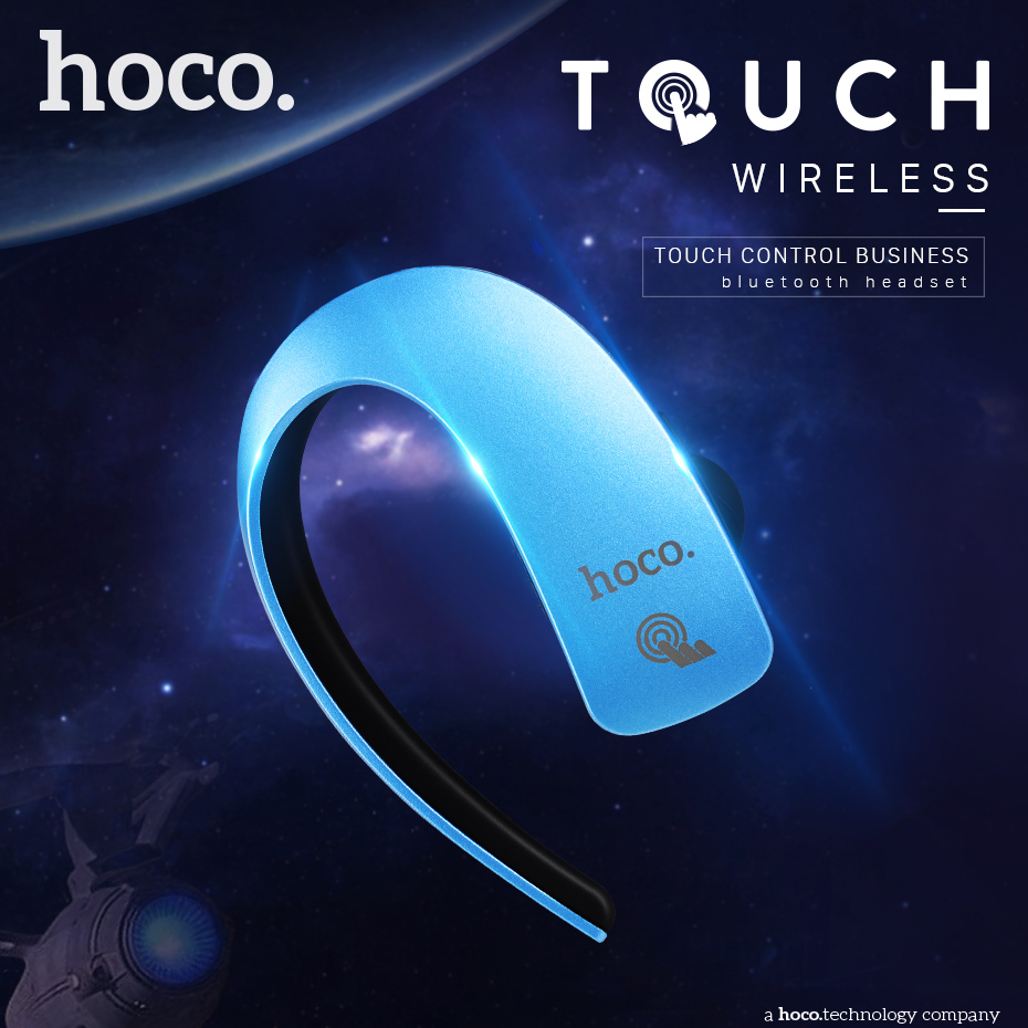 HOCO Touch Control Headphones Bluetooth Earphone Super Bass Headphone Wireless Headset Gamer Bluetooth Earbuds Noise Cancelling