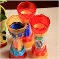 Juguetes del baño del bebé Whirly agua Kid aficiones clásicos de baño taza tipo de rueda noria salpican artículos de baño