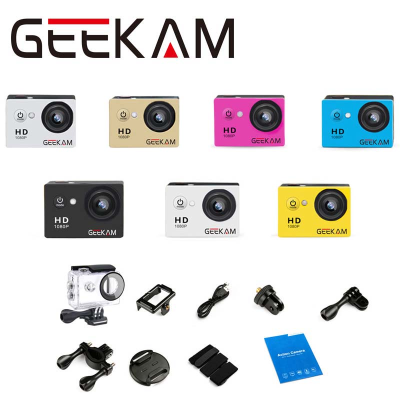 1080P Full HD 2 0 LCD Sports Action Video Camera Sports DV waterproof 30M Action Cam