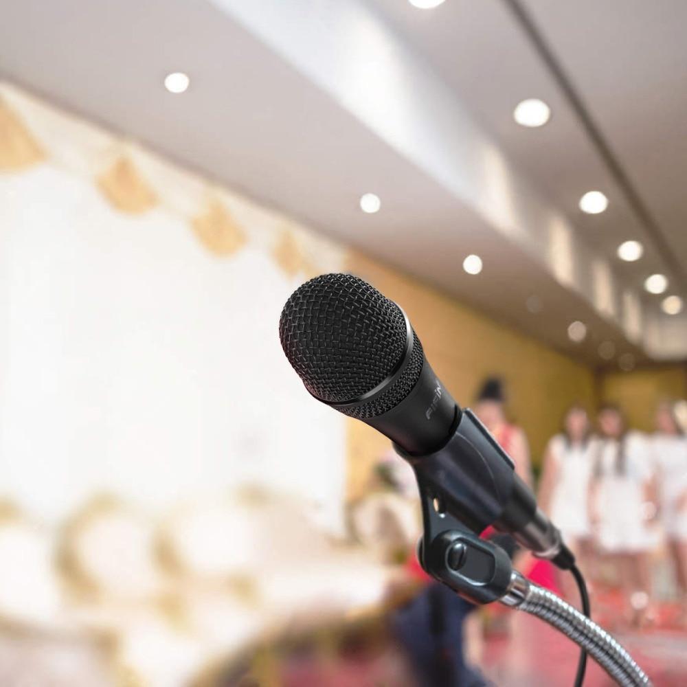 5 Microphone dynamique pour haut-parleur