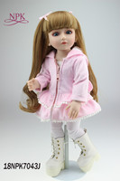 NPK BJD Doll Fashionista Ultimate Dressup Dolls Set Gift Box Toy Fashion Princess bjd Dolls house toys plamates