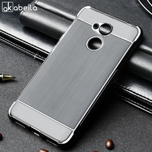 AKABEILA Case For Huawei Honor 6C Pro Silicone V9 Play Cover Anti-Knock Brush TPU Soft Shell Protector